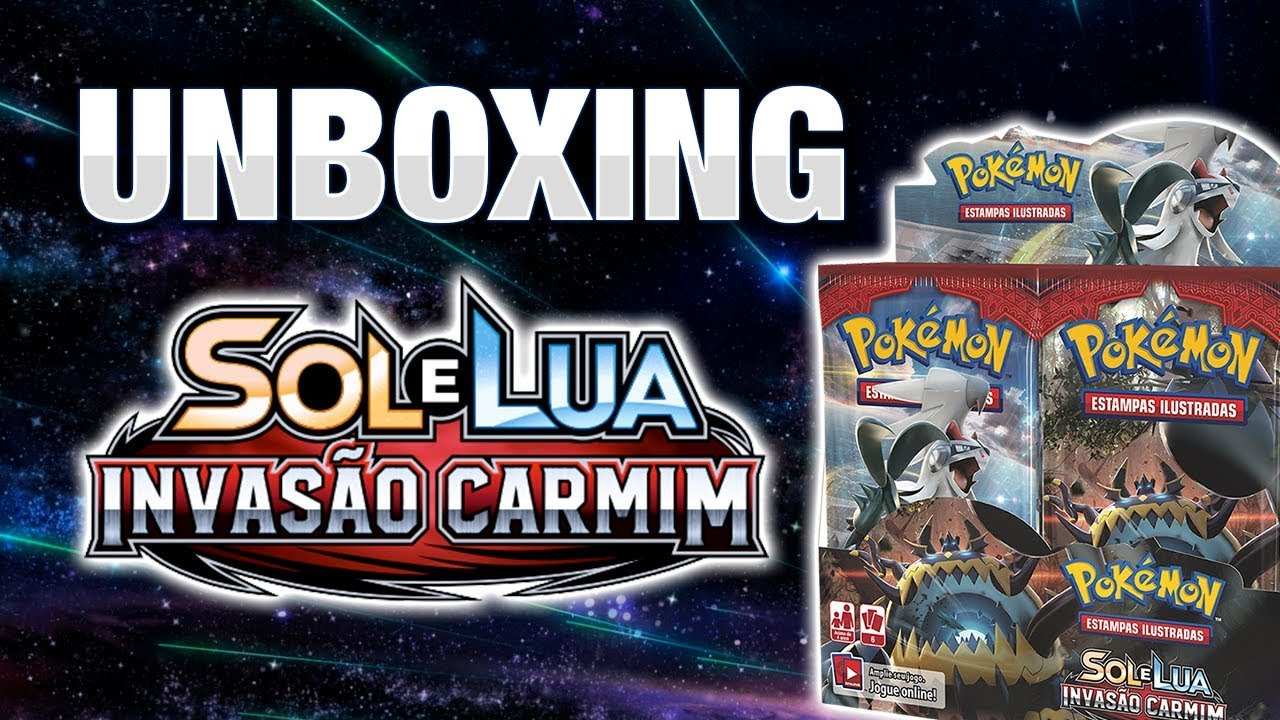 Unboxing | 2 Booster Box Invasão Carmim