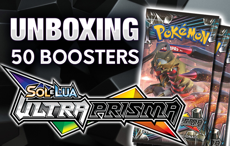Unboxing   50 Boosters Ultra Prisma