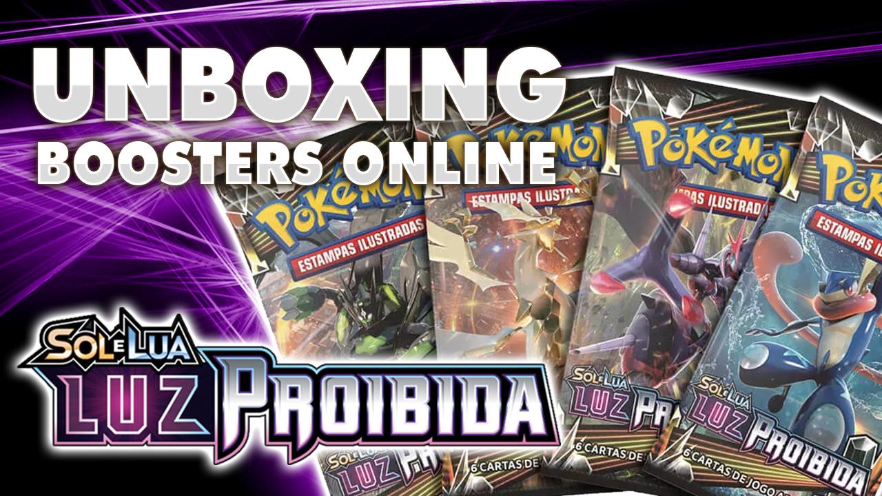 Unboxing | Boosters Online Luz Proibida!
