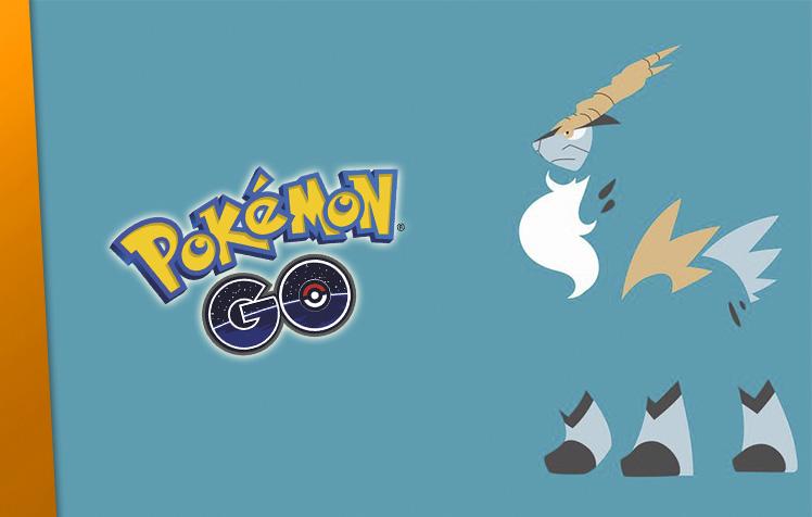 Cobalion chegará a Pokémon GO