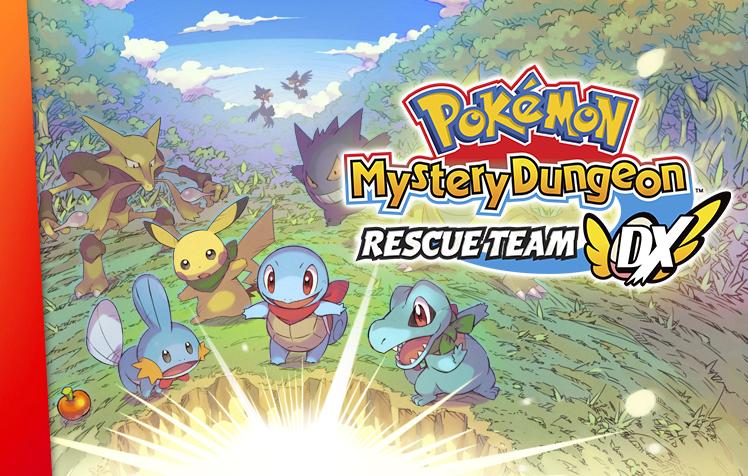 Remake Pokémon Mystery Dungeon: Rescue Team DX chega em março